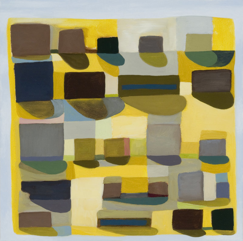 """""""Morning"""" by Jessica Gandolf from """"Expanding Fields"""" at Rose Contemporary."""