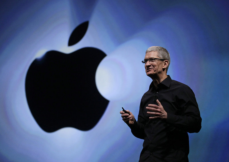Apple CEO Tim Cook, shown in September while introducing the new iPhone 5, replaced Google Maps as the device's navigation system and inserted Apple's map software. But it performed so poorly he had to apologize.