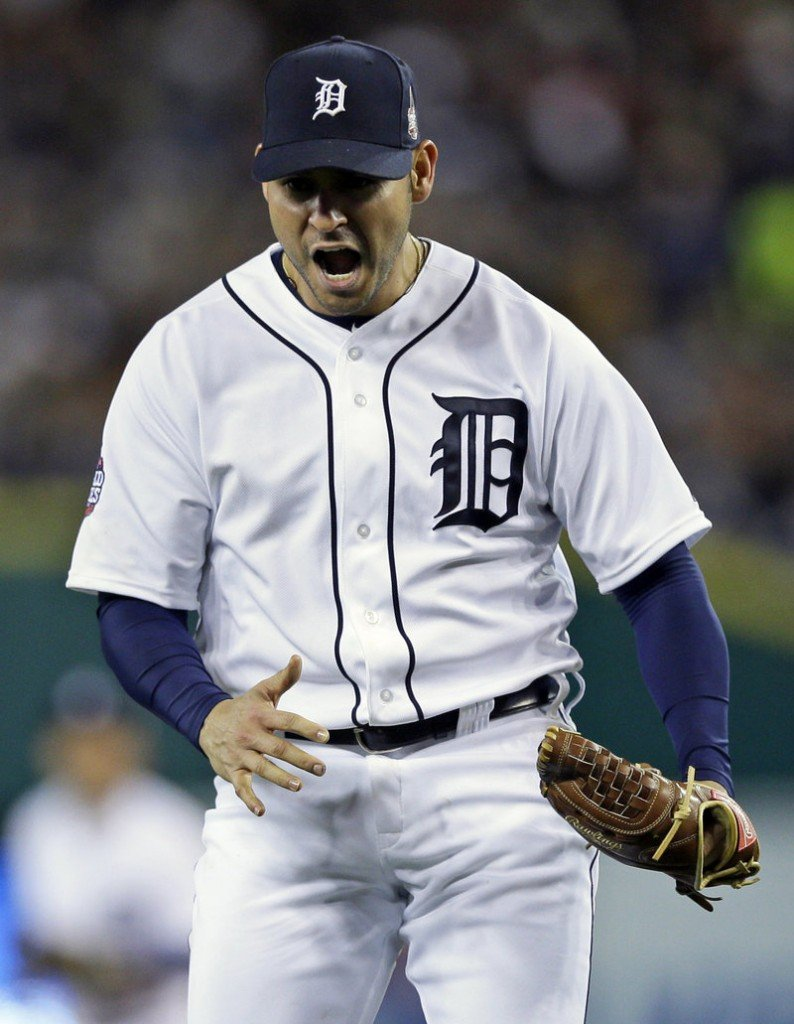 Anibal Sanchez pitched well for the Detroit Tigers in the playoffs but was hurt by a lack of offense. Sanchez, a free agent, will return to the team with a five-year contract.