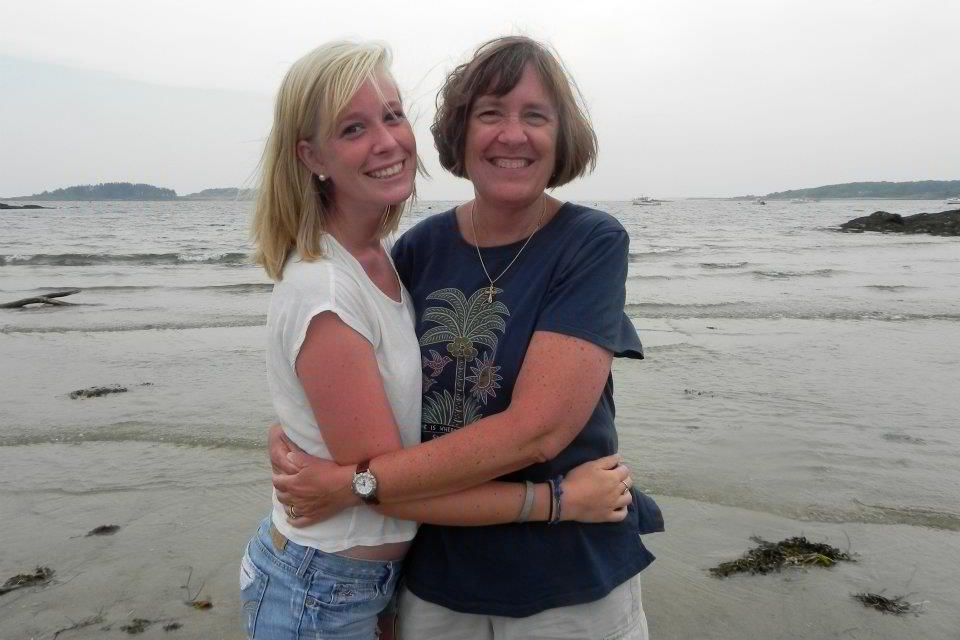 Mary Staszko, right, and her daughter Anya
