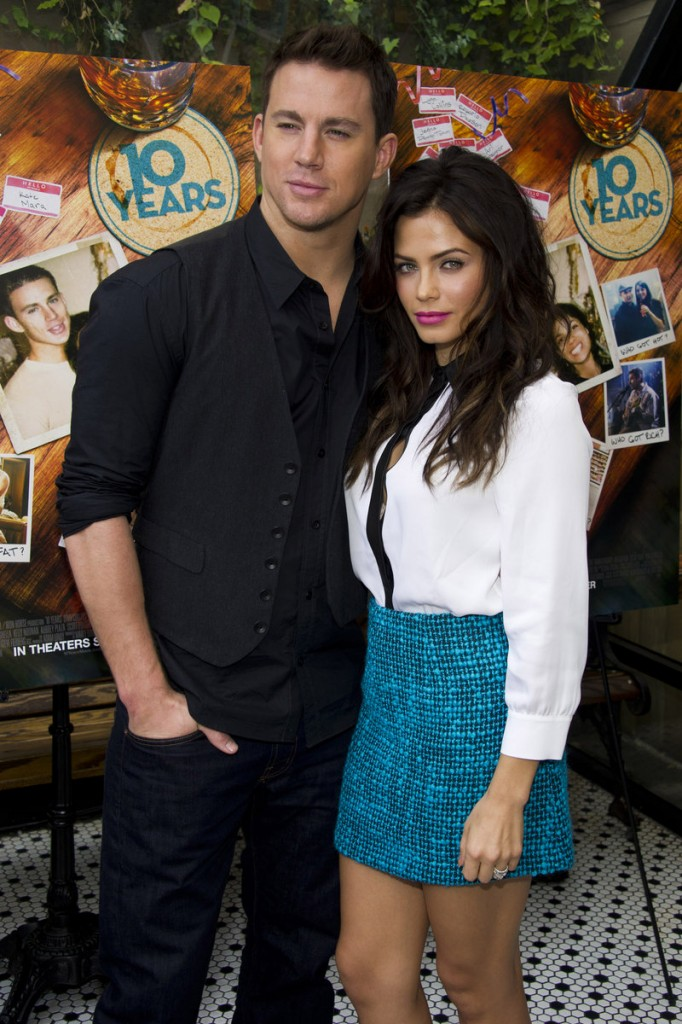 """Channing Tatum and Jenna Dewan-Tatum, co-stars of the film """"10 Years,"""" have been married since 2009."""