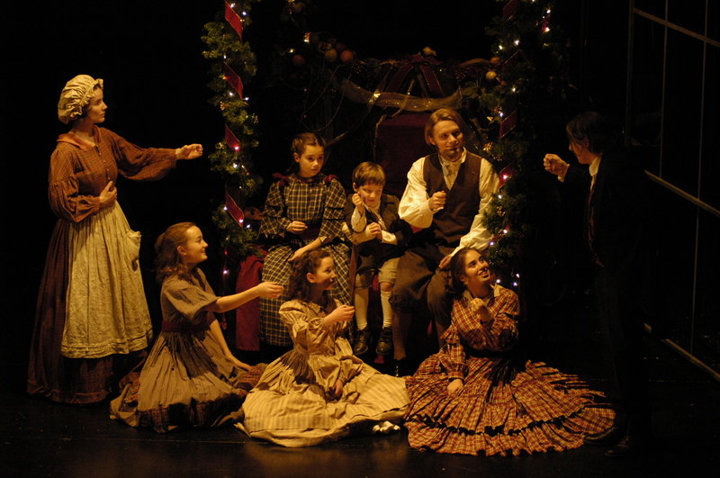 """It's the final weekend for the Cratchit family and the rest of the characters in the Portland Stage Company production of """"A Christmas Carol,"""" with performances Thursday through Sunday, including two on Saturday."""