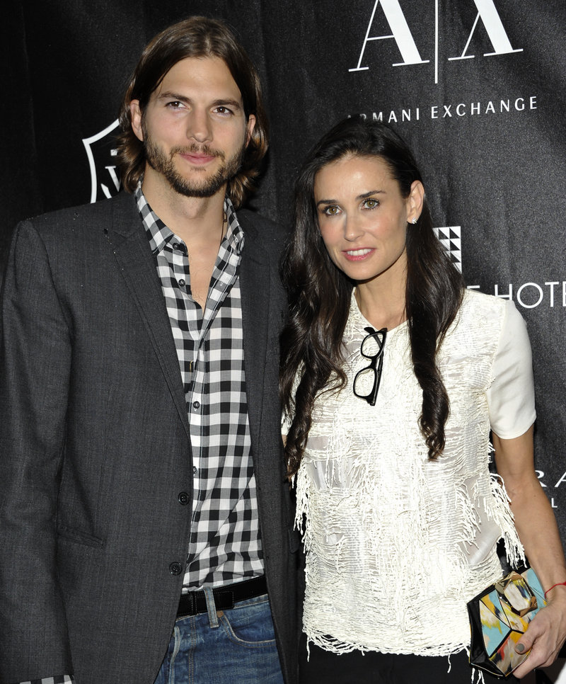 Irreconciliable differences: Ashton Kutcher and Demi Moore