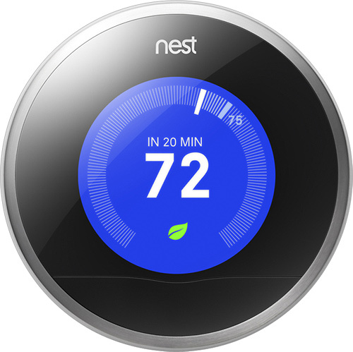A smart thermostat from Nest Labs