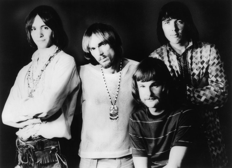 Iron Butterfly in 1969, from left, Erik Brann, Ron Bushy, Lee Dorman and Doug Ingle.