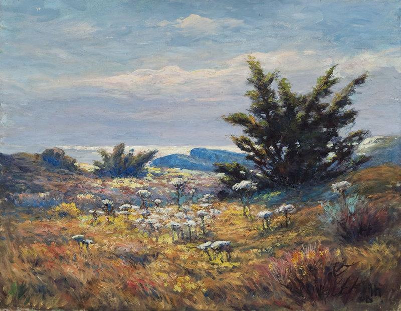"John Calvin Stevens' ""Joe Pye Weed (Delano Park),"" 1908."