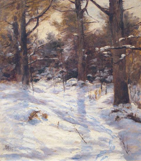 """John Calvin Stevens' """"Winter Sunshine,"""" 1907"""