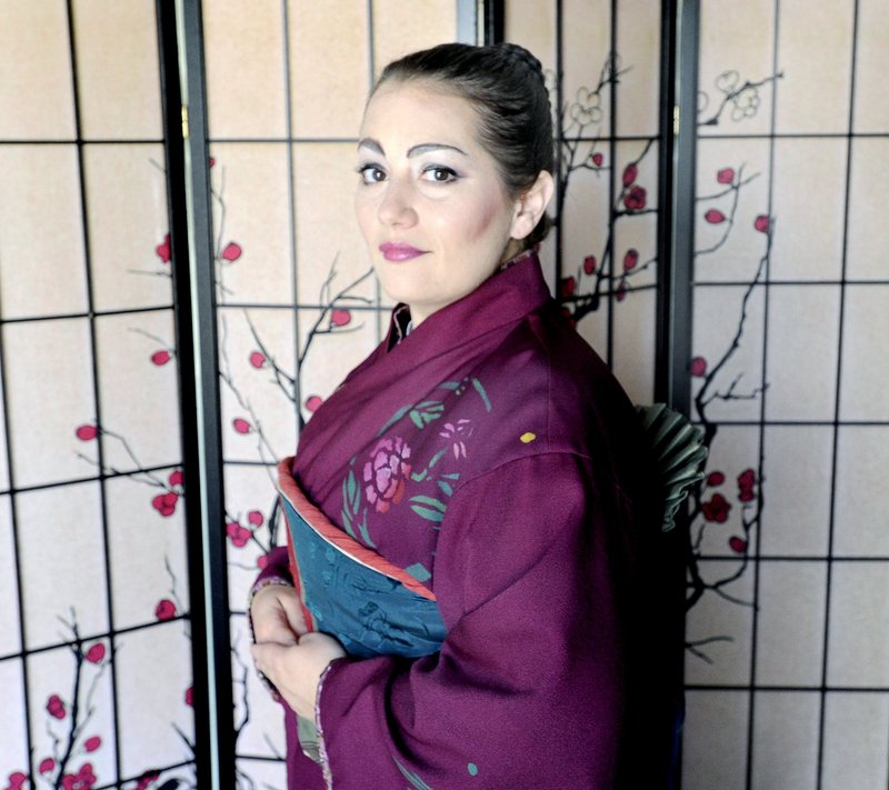 """Heather Johnson played the lead in """"Madama Butterfly."""""""