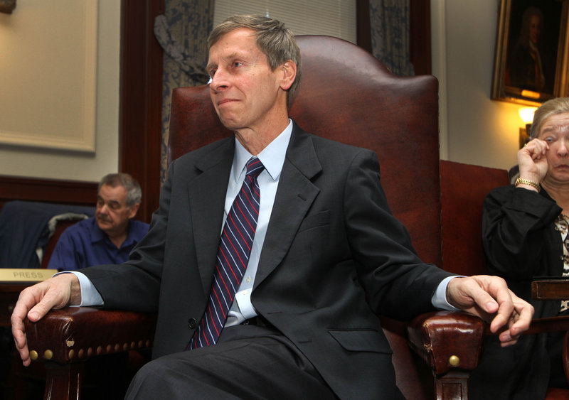 Gov. John Lynch cleaned out his office Friday, Dec. 28, 2012 after eight years in office.