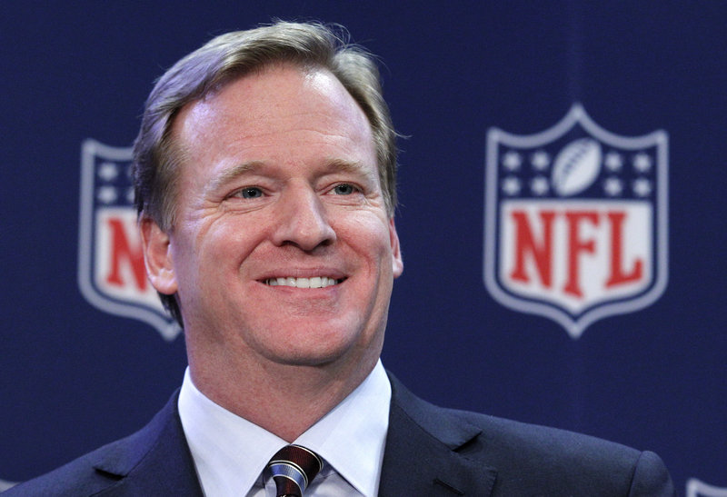 It appears NFL commissioner Roger Goodell is building a summer home in Scarborough.