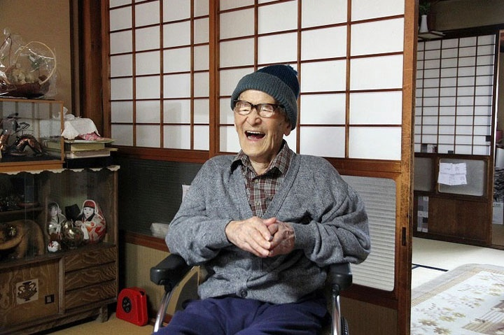 Jiroemon Kimura, 115, became the oldest man in recorded history on Friday, according to record keepers.
