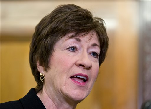 Support for U.S. Sen. Susan Collins, R-Maine, is highest among self-identified Republican voters, who gave her a 66 percent approval rating. But independents were not far behind at 64 percent, and even 60 percent of Democrats approved of Collins' performance.