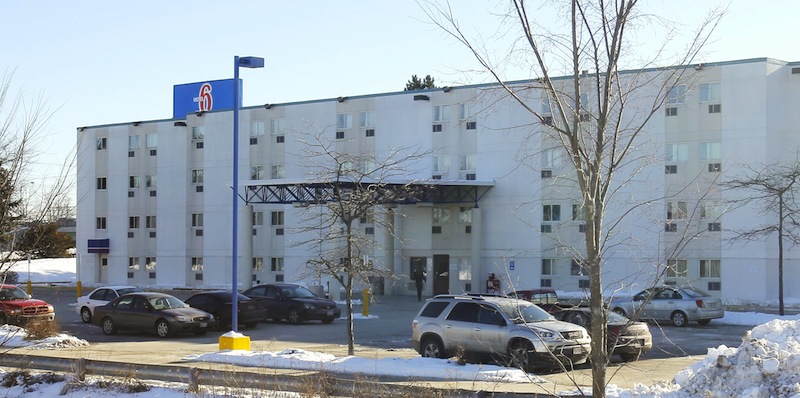 The body of a dead woman was found in a car in the Motel 6 parking lot in Portland on Thursday afternoon, January 17, 2013. Police are calling the death suspicious and an investigation is ongoing.