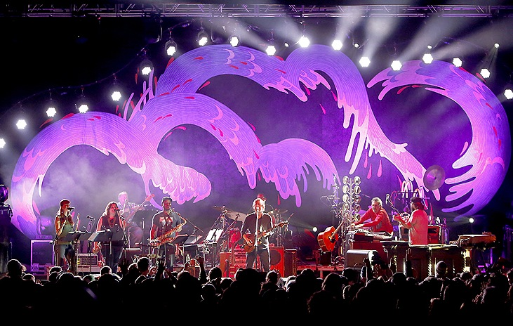 Trey Anastasio performs at a sold-out State Theatre in Portland Sunday night.