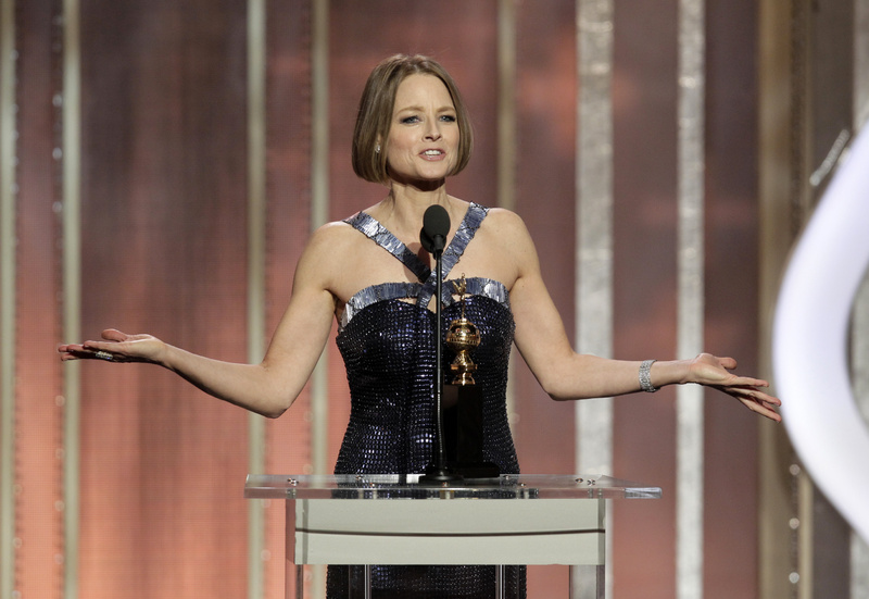 Jodie Foster is being panned by some gay-rights activists for vagueness about her sexuality.