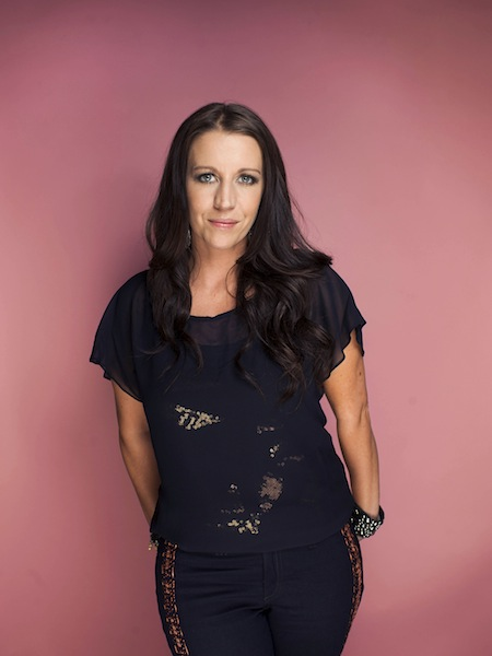 """This Sept. 20, 2012 file photo shows Pattie Mallette, mother of Canadian singer-songwriter, producer, entrepreneur and actor, Justin Bieber, in New York. Mallette is an executive producer on an upcoming anti-abortion short film. The makers of """"Crescendo"""" hope to raise $10 million for pregnancy centers at screenings worldwide starting Feb. 28, 2013. (Photo by Victoria Will/Invision/AP)"""