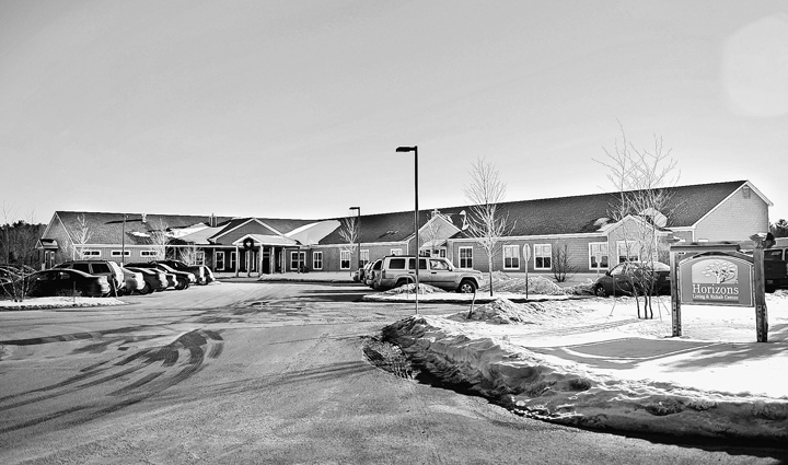 Gabe Souza/Staff Photographer: Horizons Living and Rehab Center in Brunswick, photographed Thursday, January 10, 2013.
