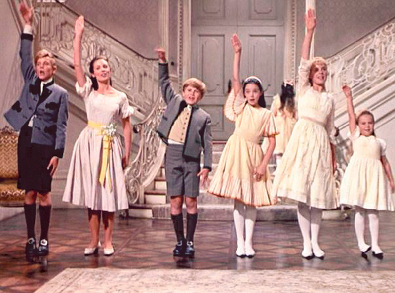 """Scenes from """"The Sound of Music."""" Generations have grown up with the movie, seeing it on TV, video or DVD long after its theatrical release."""