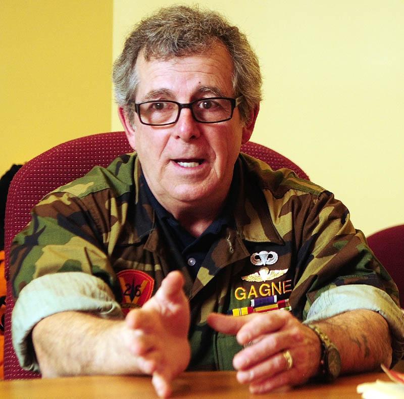 Marine Corps veteran Bill Witt speaks on Thursday about the siege of Khe Sahn, during an interview in Augusta.