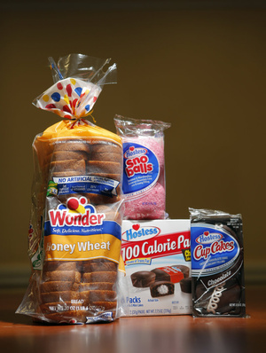 The line of products from Hostess Brands Inc. that were made at the Biddeford plant included: CupCakes, Sno Balls, mini CupCakes and a variety of Wonder and J.J. Nissen breads.