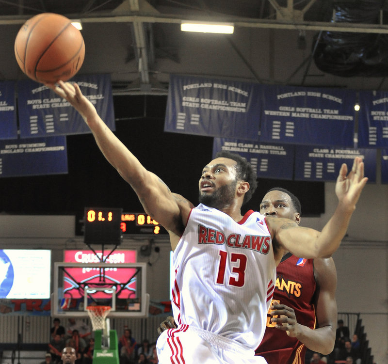 Xavier Silas is one of the Maine Red Claws players who could get a look by NBA teams when the window opens Monday for D-League players to move up with 10-day contracts. Still, the team isn't worried because of its depth of talent put together by the parent Boston Celtics.