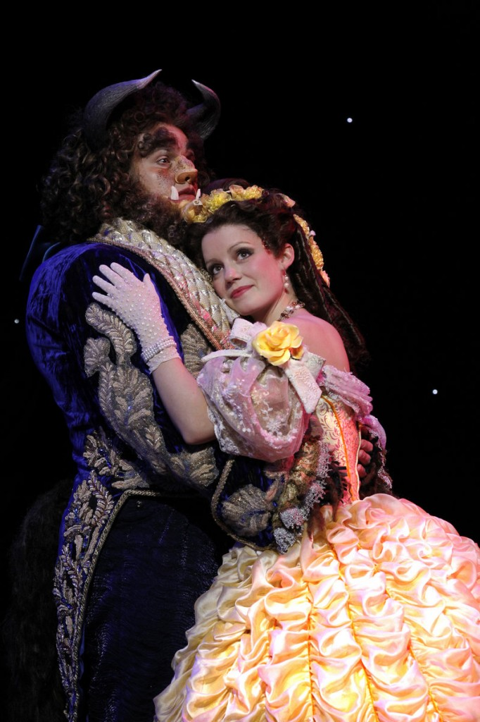 """The stage version of Disney's """"Beauty and the Beast"""" is in Portland Friday and Saturday."""