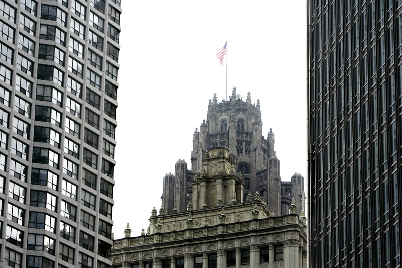 This 2007 photo shows the Chicago Tribune building in Chicago. Tribune Co. emerged from Chapter 11 restructuring Monday.