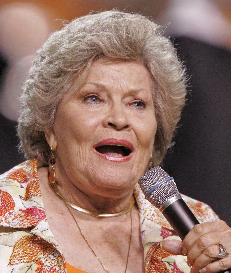 Patti Page in 2009.