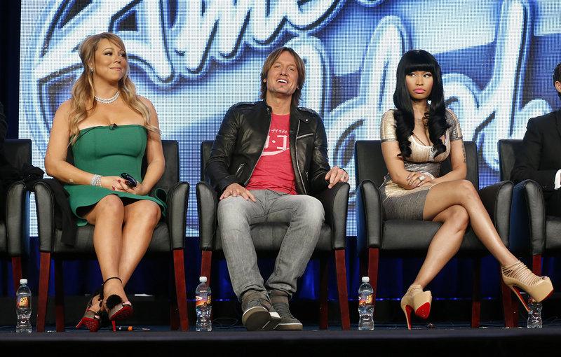 "Mariah Carey, Keith Urban and Nicki Minaj are three of the judges this year on ""American Idol,"" which begins its 12th season Wednesday."