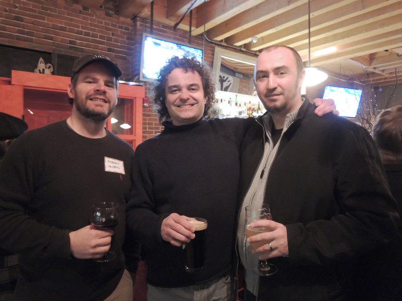 Robert Barnes, an infomercial producer; Greg Daly, a creative director; and Dragos Stancu, a web designer.