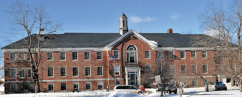 This photo taken on on Thursday January 10, 2013 shows the Central Maine Pre-Release Center in Hallowell. It has operated on the Stevens School Complex since 1979 and will be closing.
