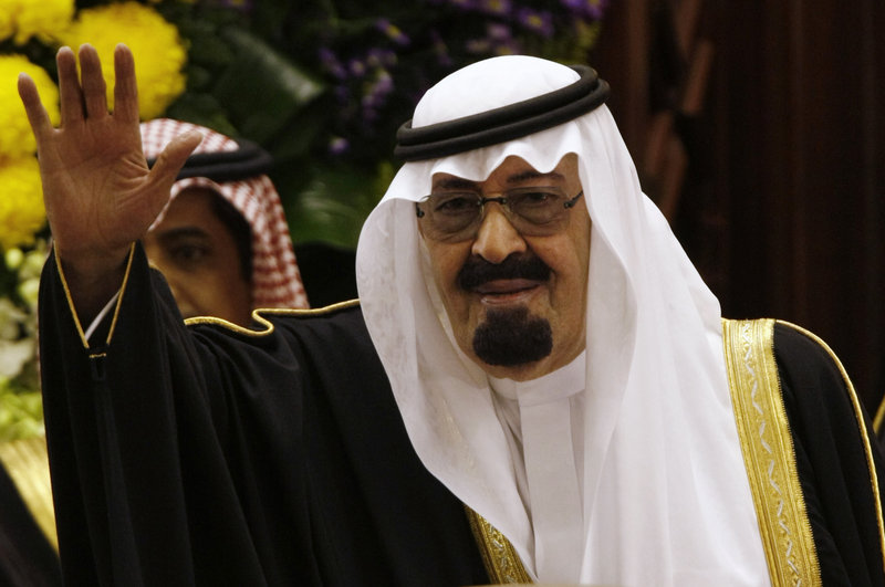 King Abdullah of Saudi Arabia, shown in 2009, still appears to be treading carefully to avoid angering powerful clerics.