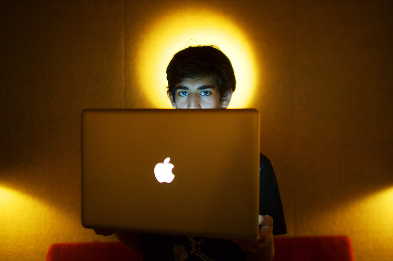 Aaron Swartz, seen in Miami Beach, Fla., in 2009, co-founded the social news website Reddit and Demand Progress, which campaigns against Internet censorship.