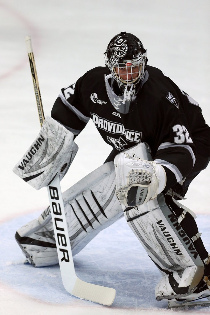Jon Gillies, a South Portland native, is having a splendid year at Providence College. He's 9-6-2 with three shutouts – the most by a freshman at the school.