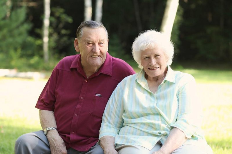 Joseph and Madelyn Clark were married 57 years.