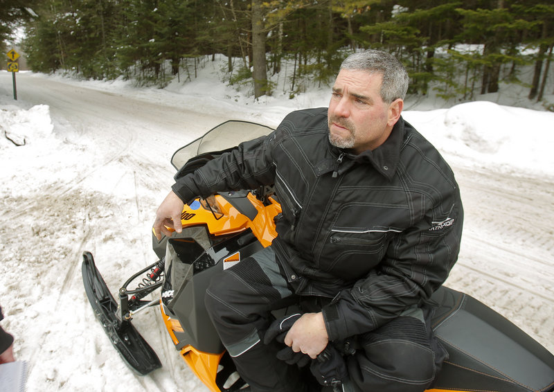 """Good trail conditions and freedom found on Maine's trails are """"the main reason I come here,"""