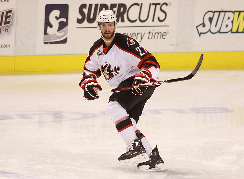 Bryce Lampman didn't want to play another season overseas even though testing the AHL waters was risky with NHL-caliber players toiling in the minors during the lockout.