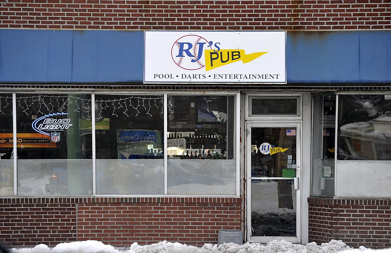 RJ's Pub is tucked between shops and the park at Mill Creek in South Portland. It boasts a pool table, beers on tap and a full selection of liquor. There's TV, too, if you can't miss the game.