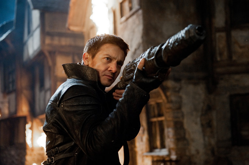 """Jeremy Renner stars in """"Hansel & Gretel: Witch Hunters,"""" a violent take on the old fairytale."""