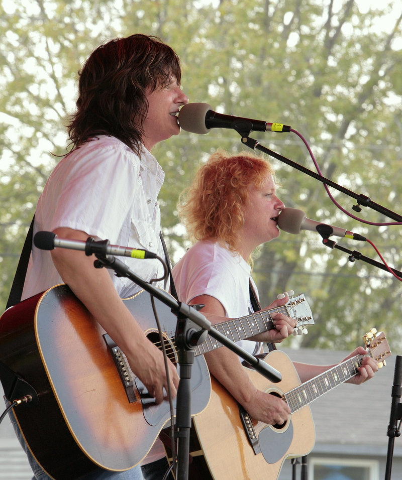 The Indigo Girls come to Stone Mountain Arts Center in Brownfield on Feb. 25.