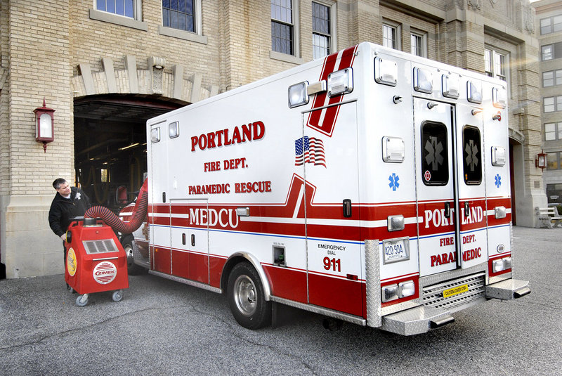 The fire department sends the nearest available units – ambulances and/or fire trucks – whenever it receives a medical emergency call.