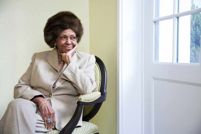 """Cissy Houston writes about some of her daughter's dark days in """"Remembering Whitney."""""""