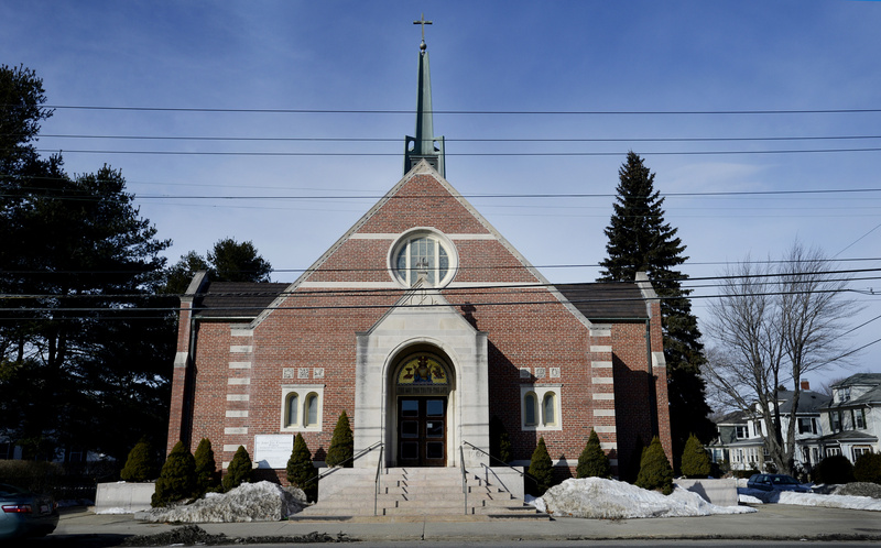 St. John the Evangelist Church in South Portland is struggling with dwindling membership and funds.