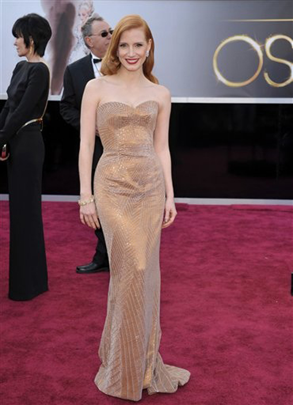 Jessica Chastain is nominated for best actress for