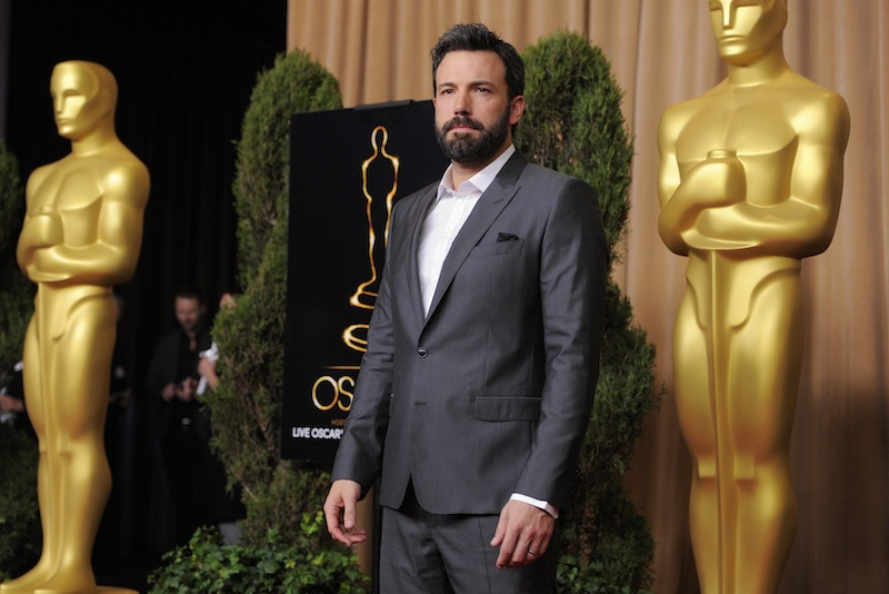 Ben Affleck, nominated for best picture for