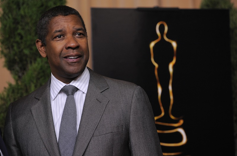 Denzel Washington, nominated for best actor in a leading role for