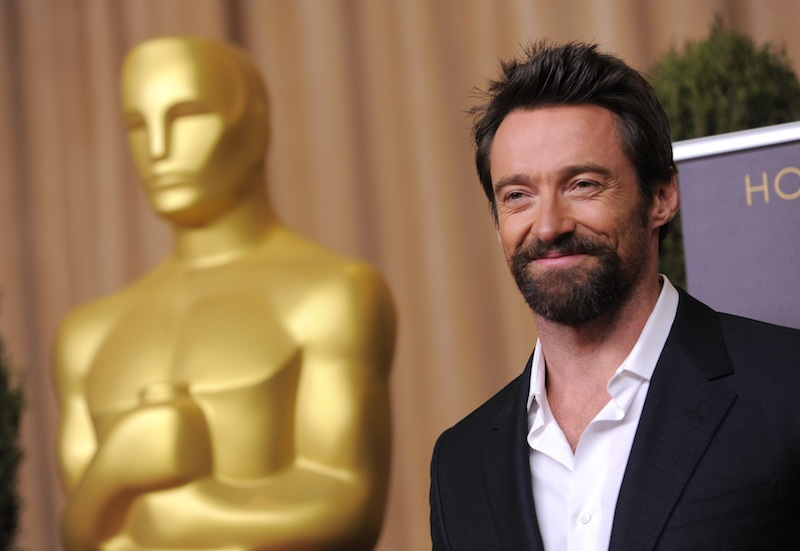Hugh Jackman, nominated for best actor in a leading role for