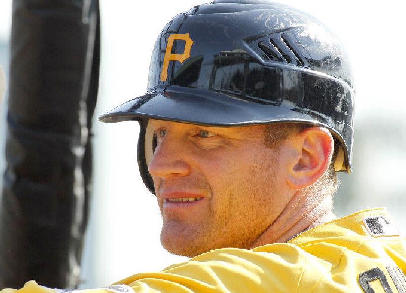 Veteran first baseman Lyle Overbay