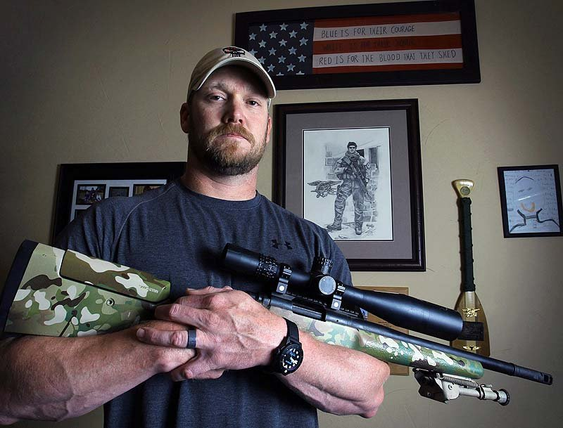 In this April 6, 2012, photo, former Navy SEAL and author of the book