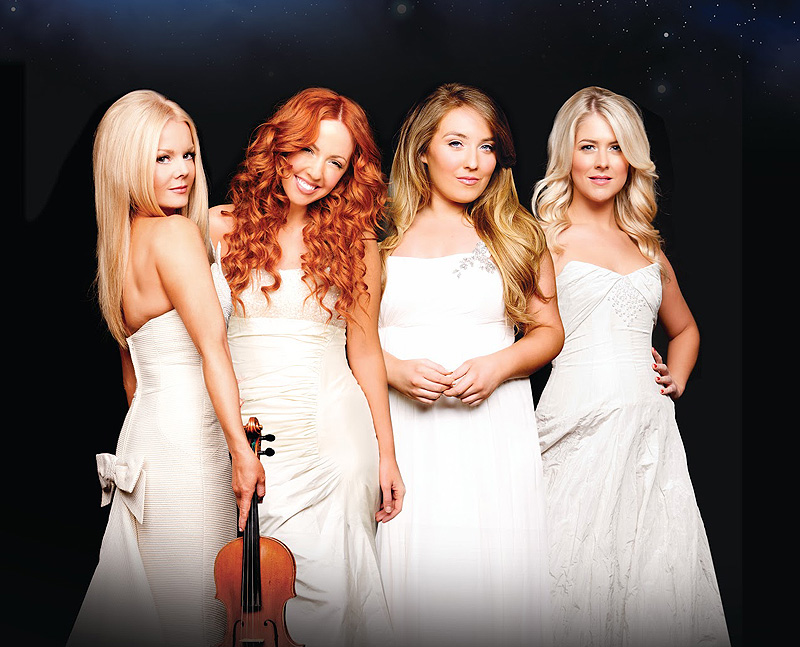 The Irish vocal group Celtic Woman performs on Saturday at Merrill Auditorium in Portland.